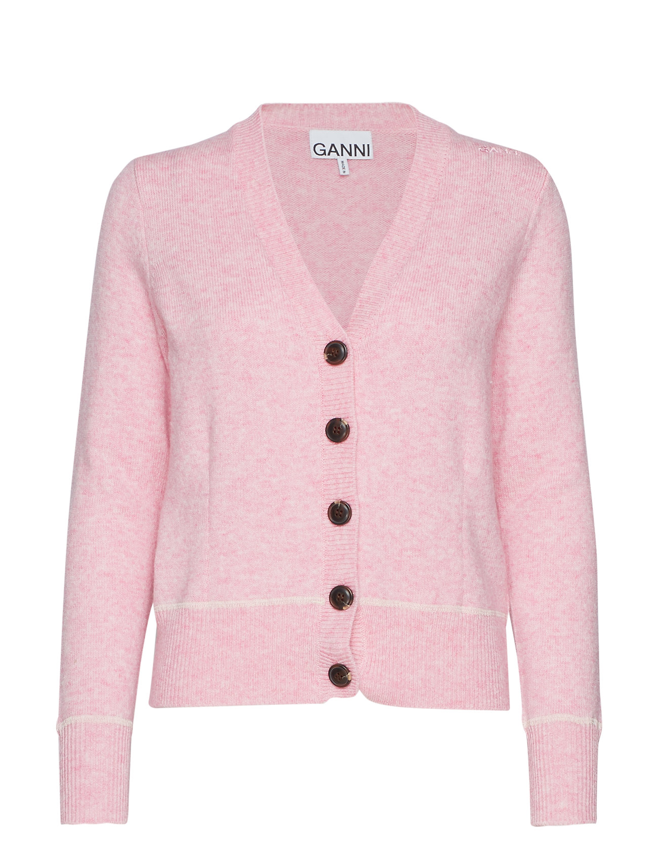 Ganni Wool Knit - CANDY PINK