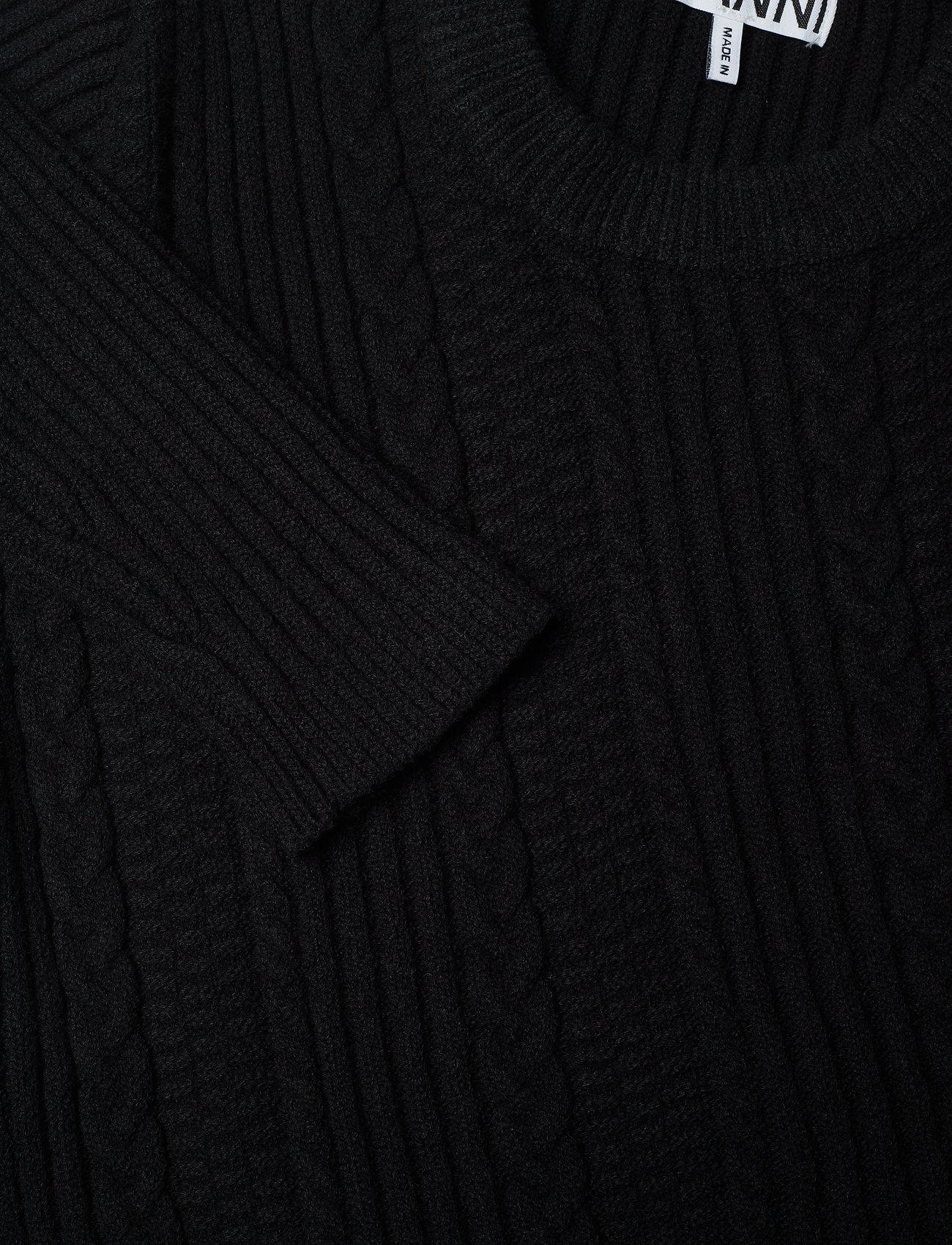 PulloverblackGanni Cotton Cotton PulloverblackGanni Cotton Knit Knit PulloverblackGanni Cotton Knit pMGqUzSVL