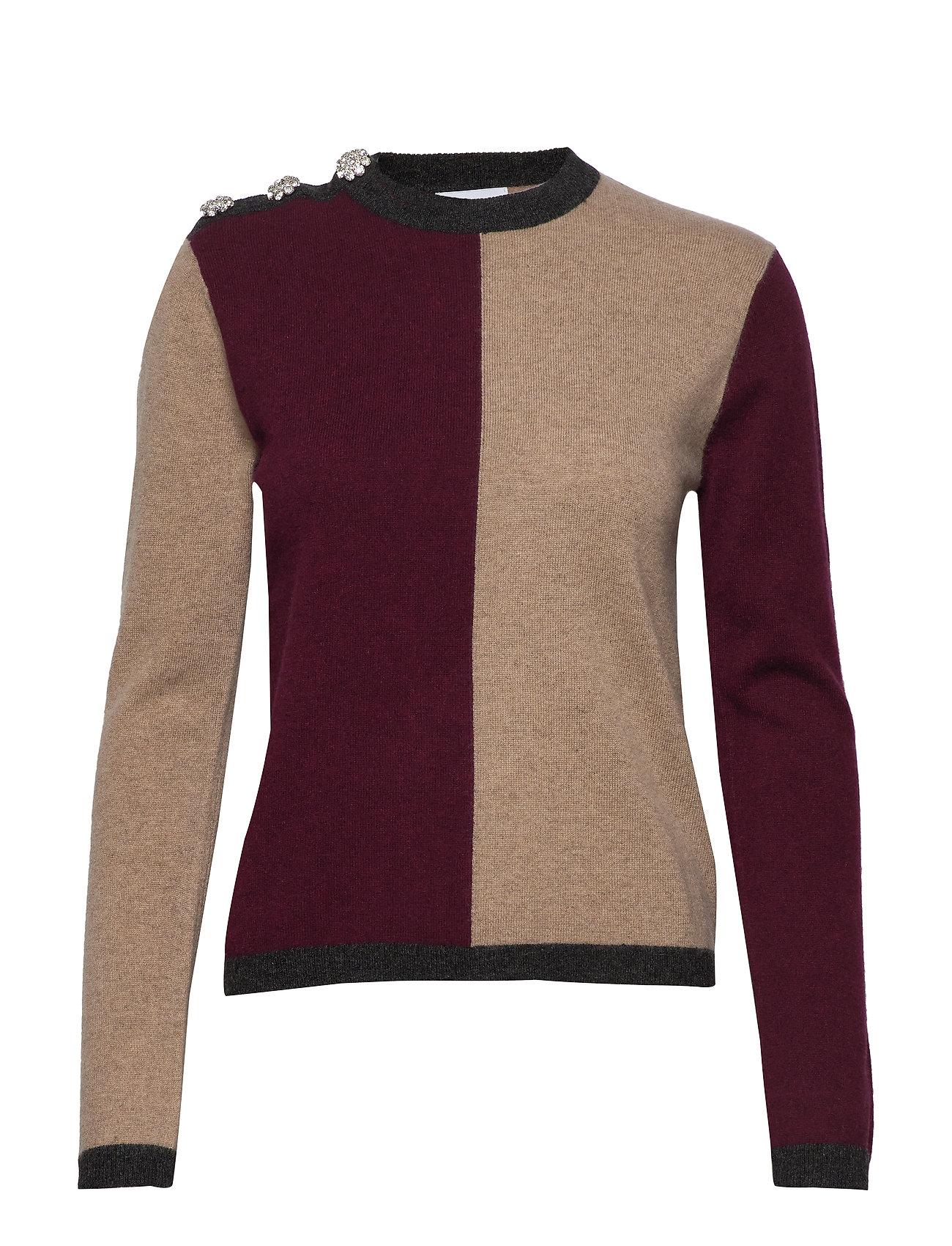 Ganni Cashmere Knit - BLOCK COLOUR