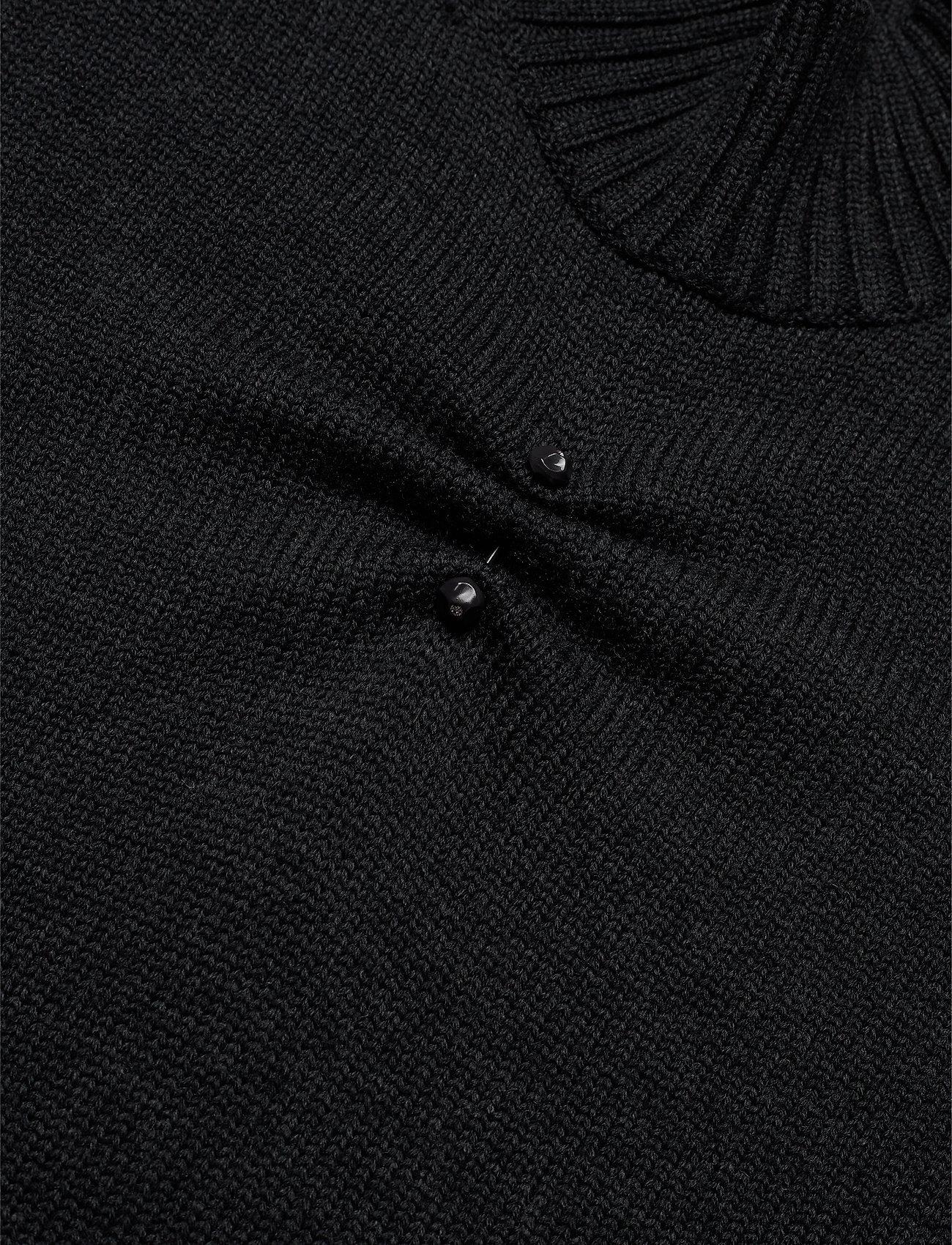 Ganni Wool Knit - Dzianina PHANTOM - Kobiety Odzież.
