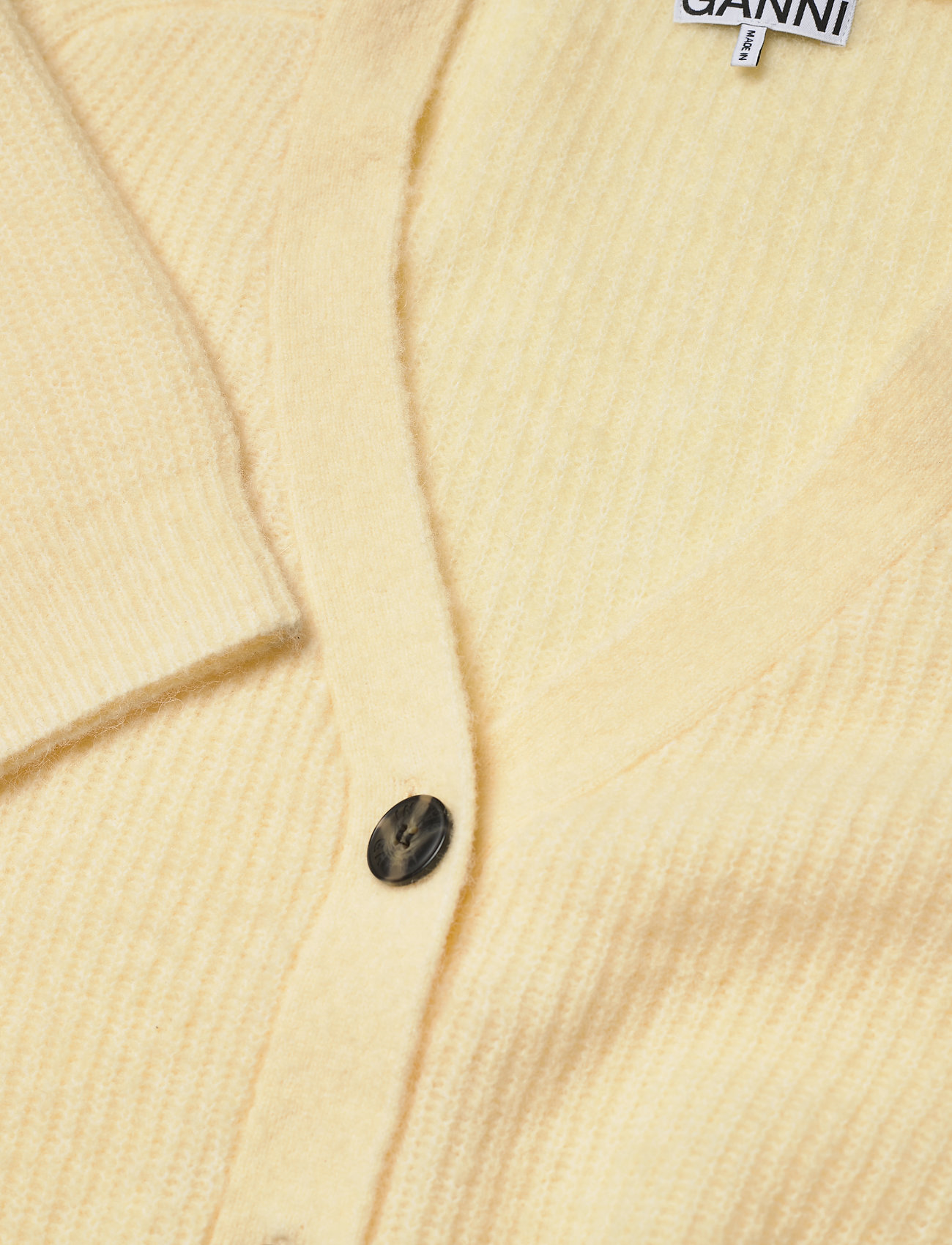 Ganni - Soft Wool Knit - cardigans - flan - 2