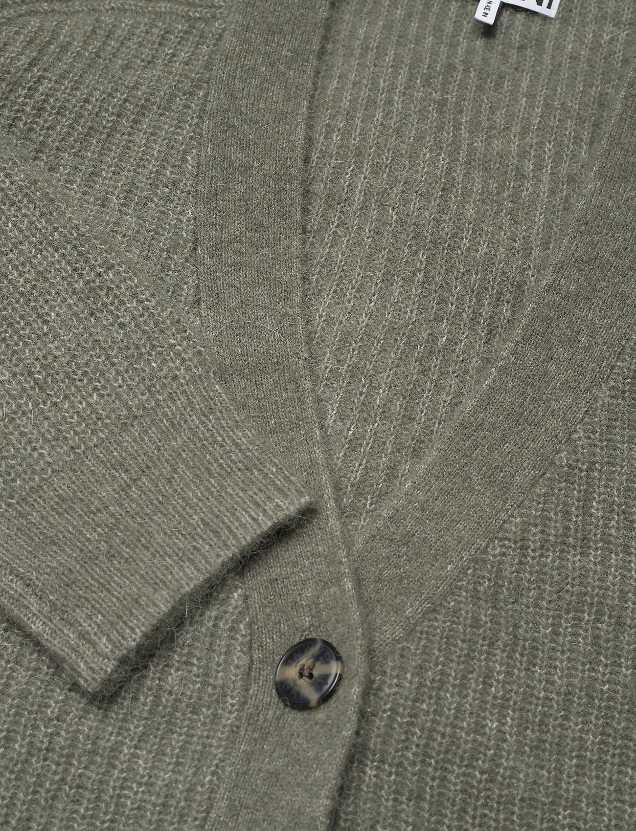 Ganni - Soft Wool Knit - cardigans - kalamata - 2