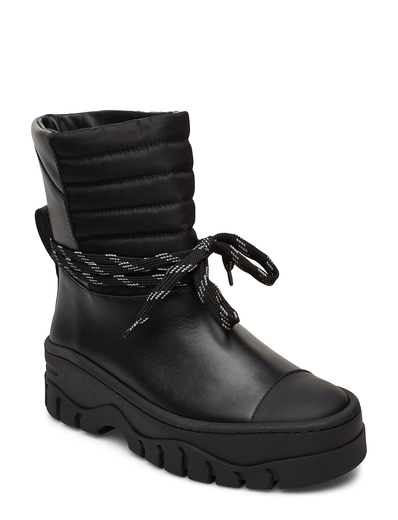 Image of Biker Shoes Boots Ankle Boots Ankle Boot - Flat Sort Ganni (3406242389)