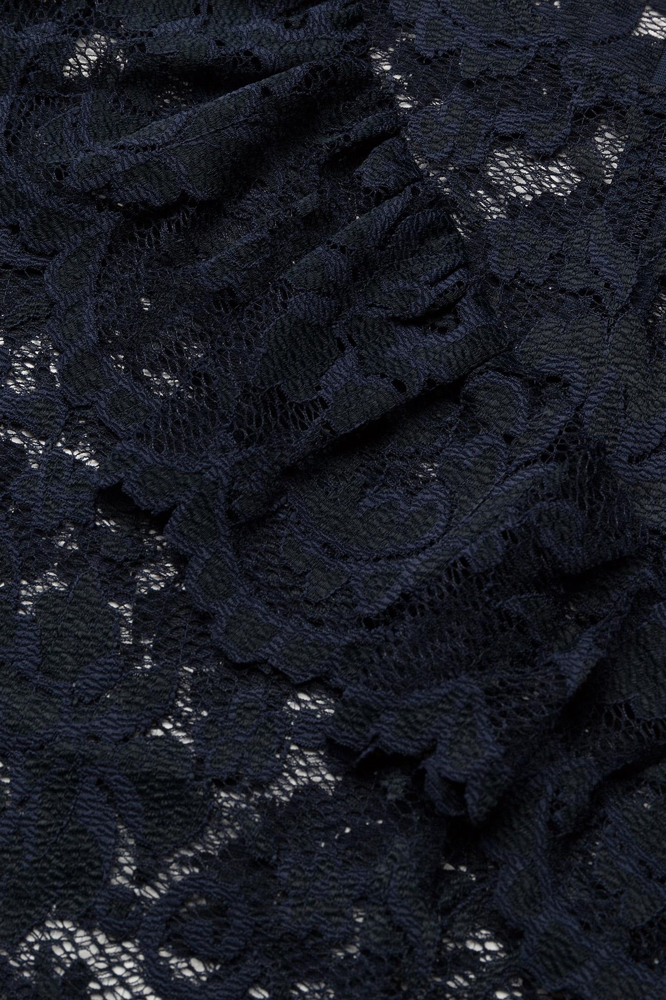 Ganni Flynn Lace - T-shirty i zopy Total Eclipse - Kobiety Odzież.