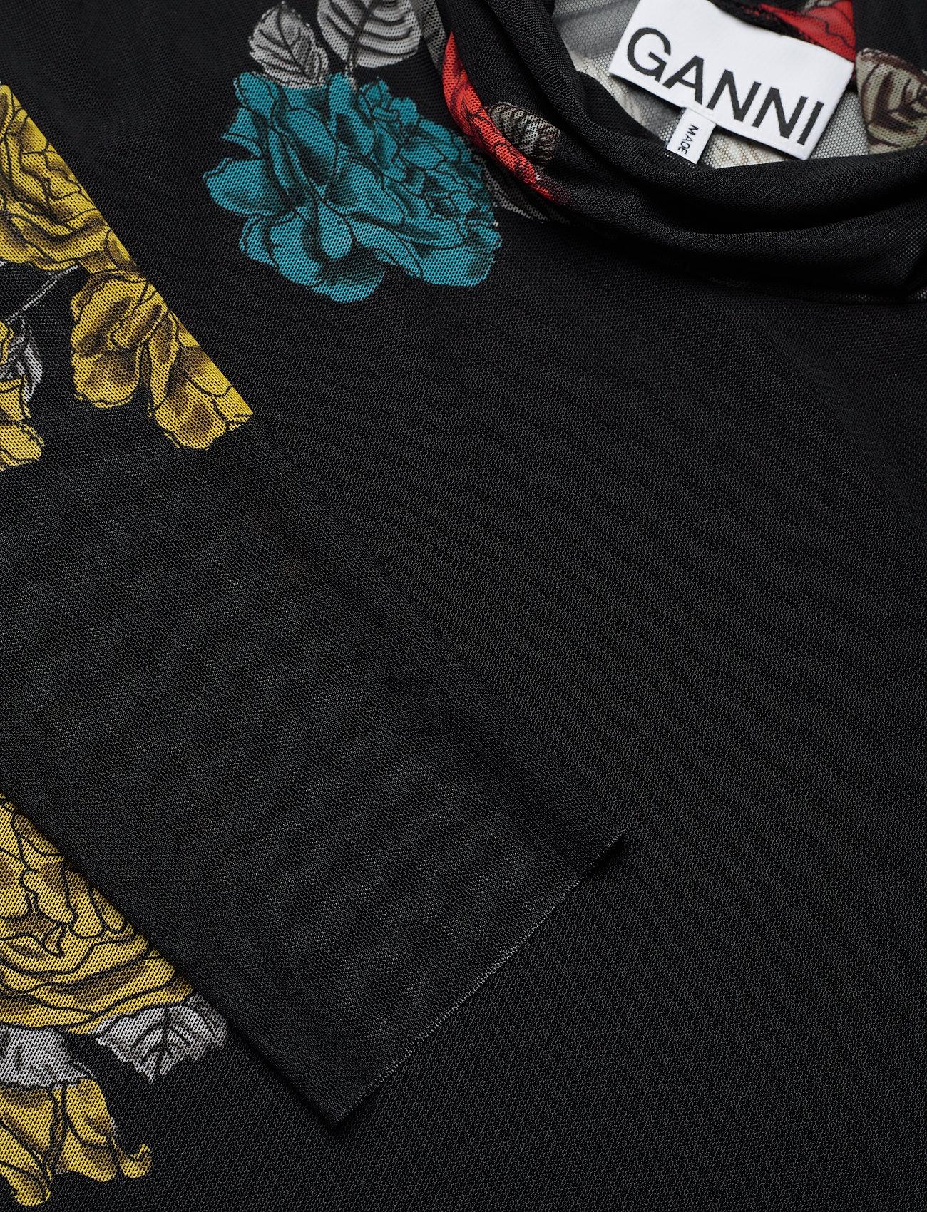 Ganni - Rollneck - long sleeved blouses - black - 2