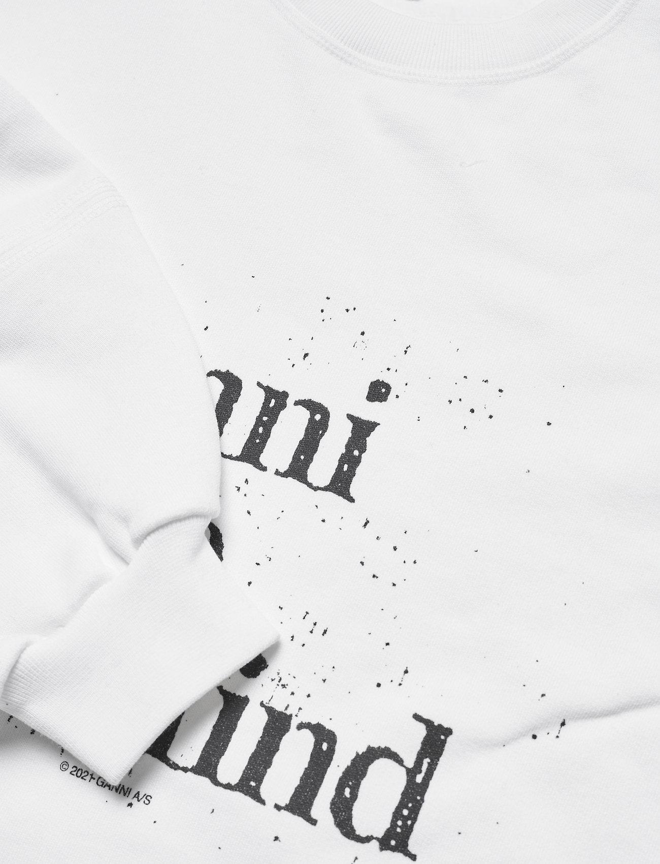 Ganni - Isoli - sweatshirts & hoodies - bright white - 2