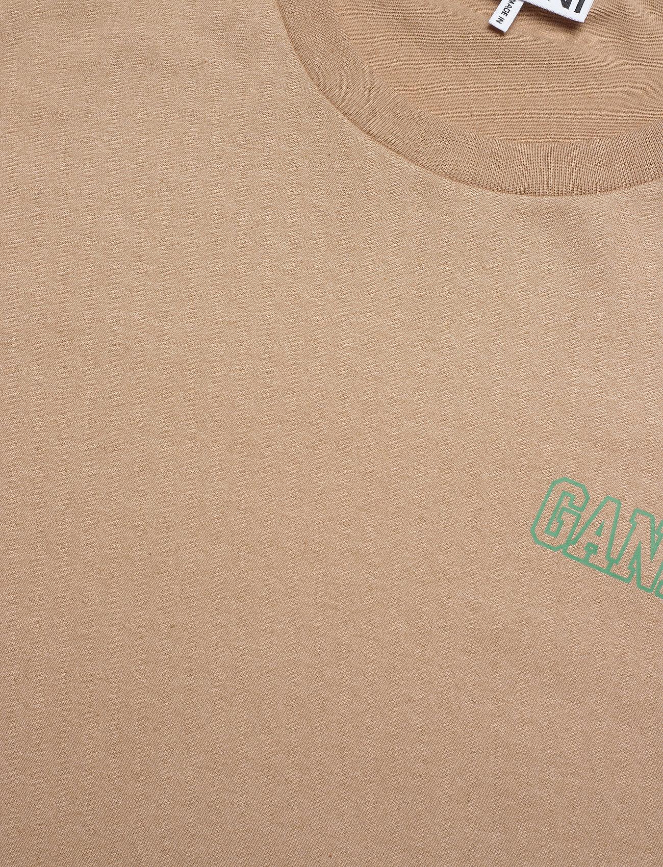 Ganni - Thin Software Jersey - t-shirts - hazel - 2