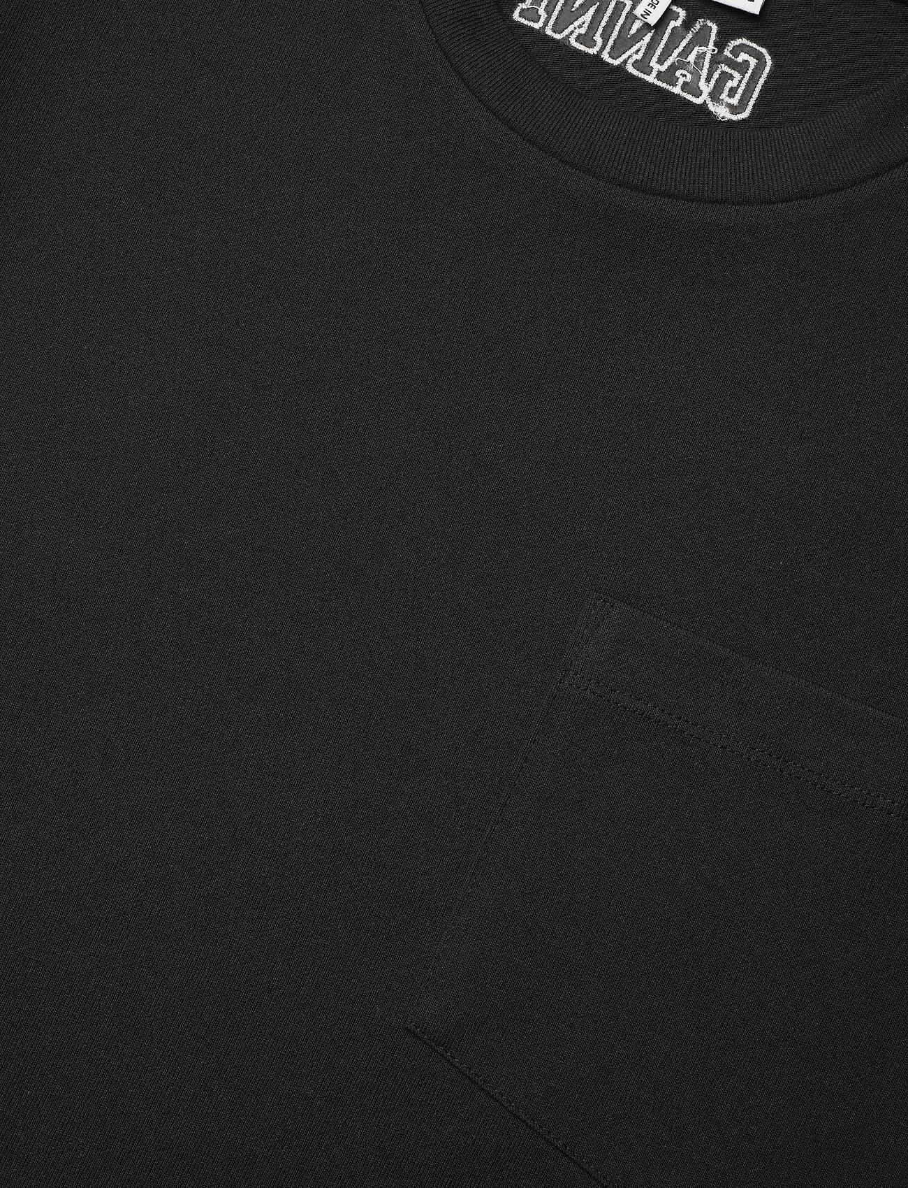 Ganni - Software Jersey - sommerkjoler - black - 2