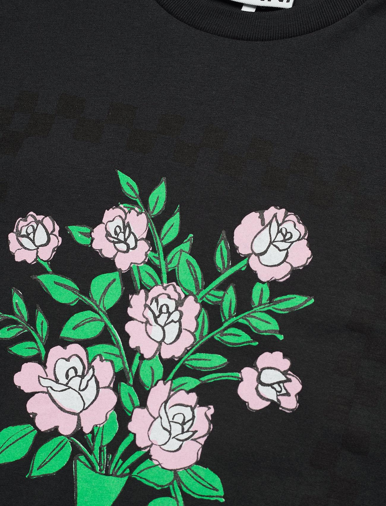 Ganni - Basic Cotton Jersey - t-shirts - phantom - 2