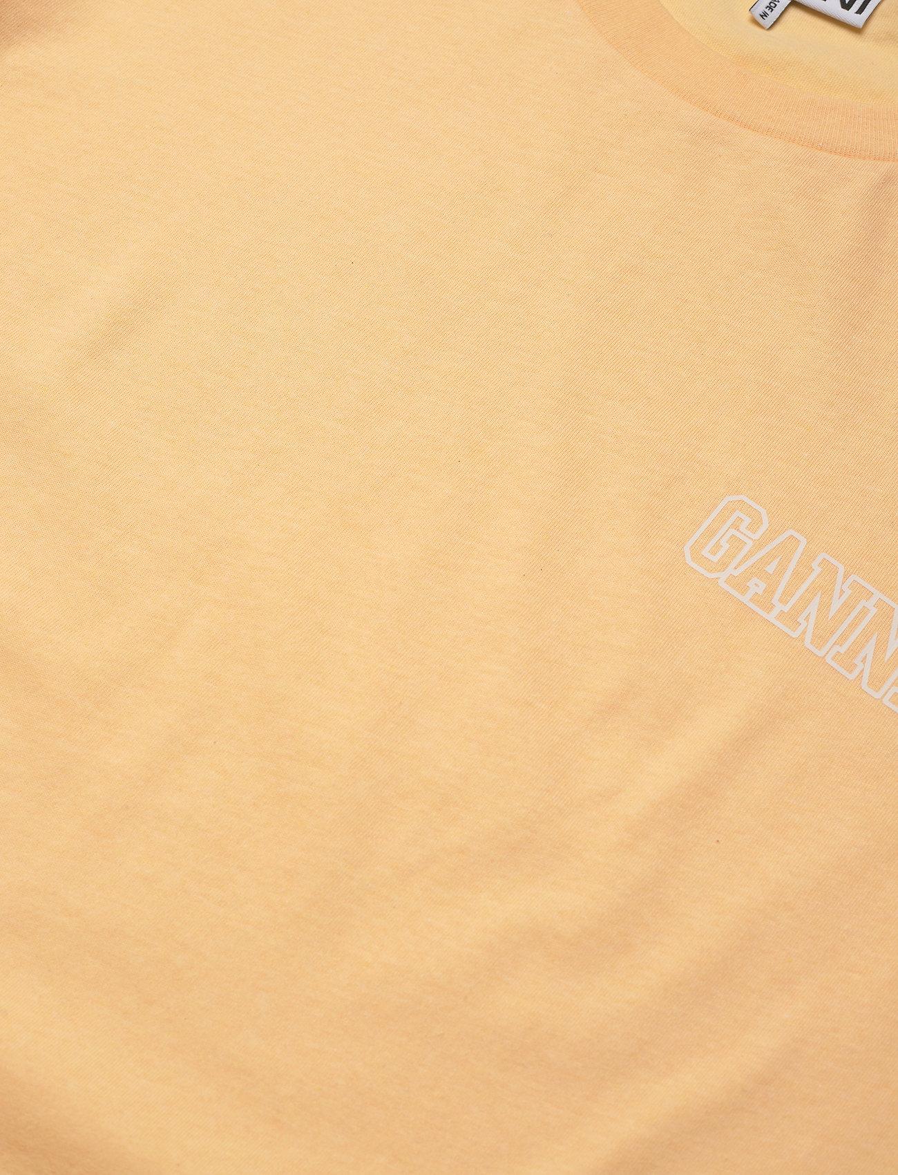 Ganni - Thin Software Jersey - t-shirts - anise flower - 2