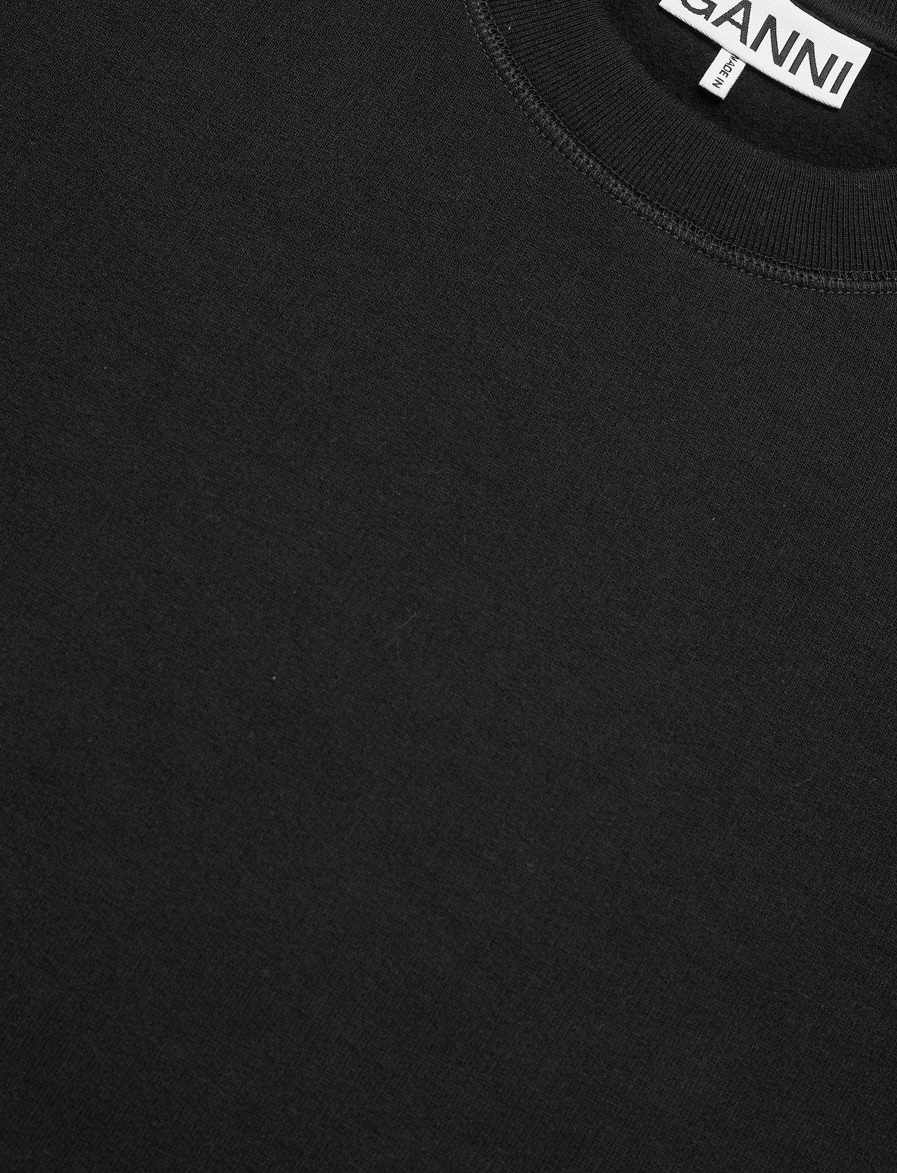 Ganni - Software Isoli - sweatshirts & hættetrøjer - black - 4