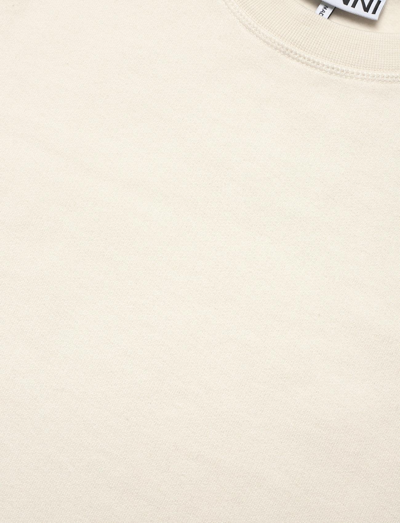 Ganni - Software Isoli - sweatshirts & hættetrøjer - egret - 4
