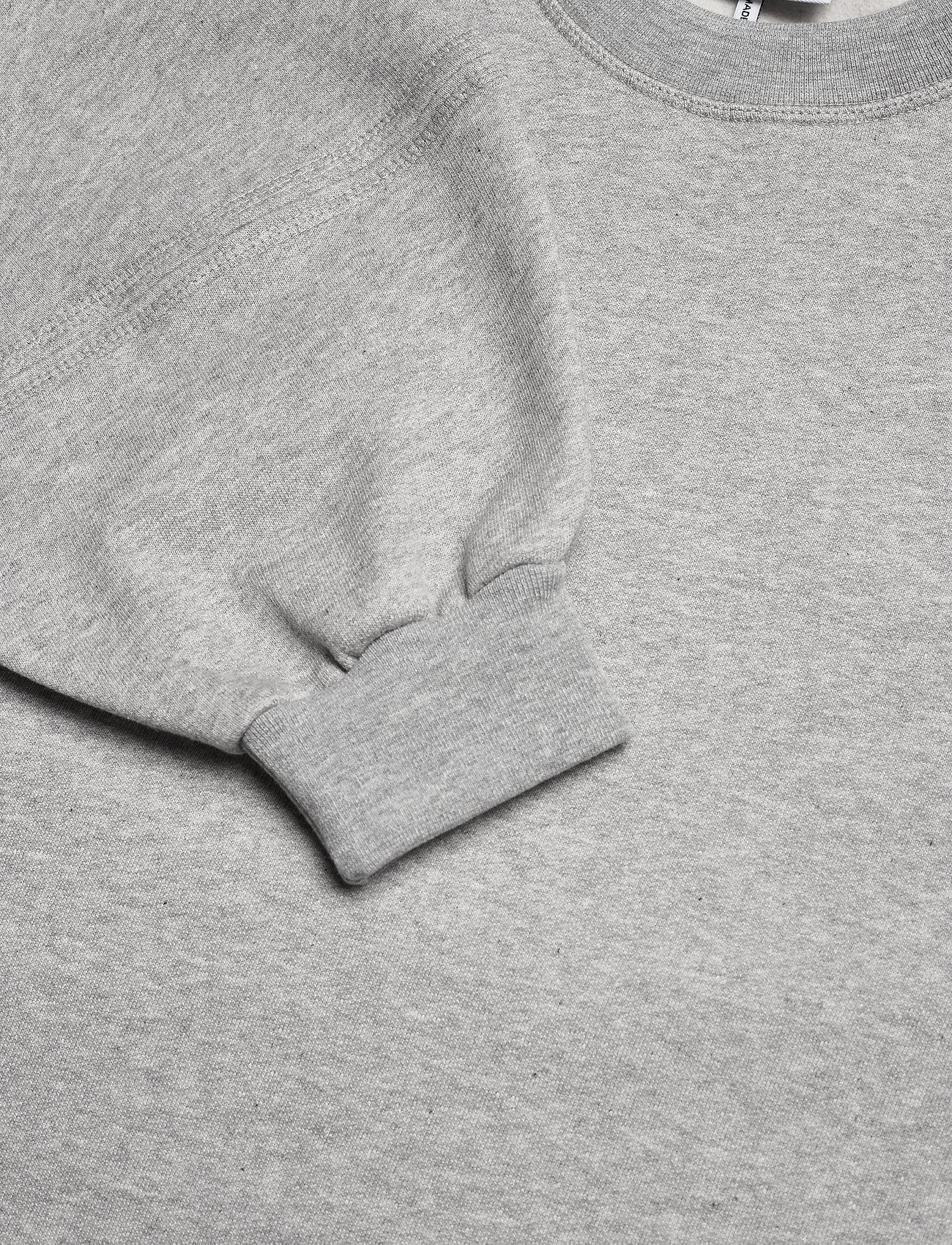 Ganni - Software Isoli - sweatshirts & hættetrøjer - paloma melange - 4