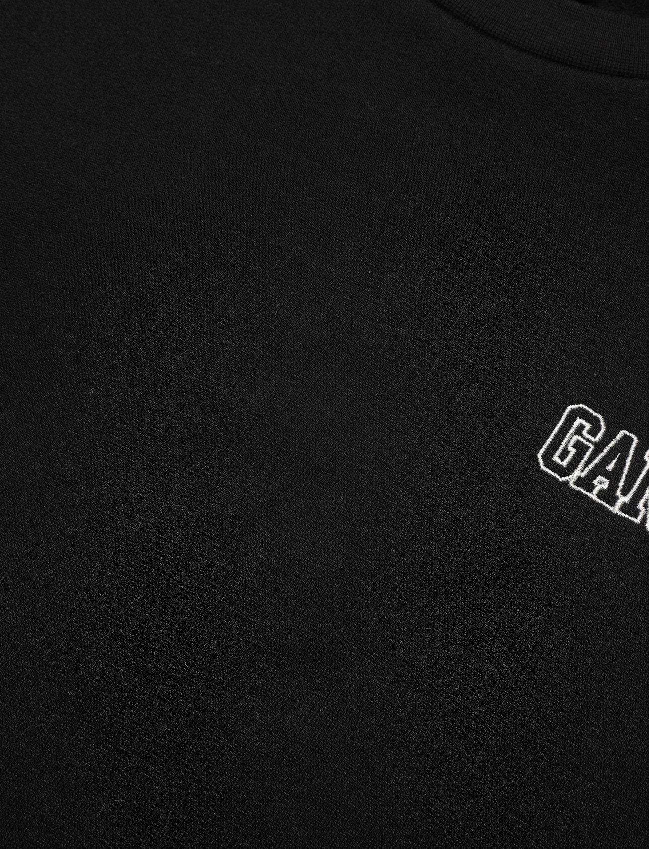 Ganni - Software Isoli - sweatshirts & hættetrøjer - black - 2