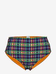 Ganni - Seersucker Swimwear - bikini bottoms - multicolour - 0