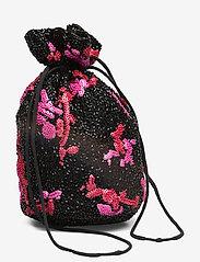 Ganni - Hand Beaded Accessories Purse - shoulder bags - black - 2