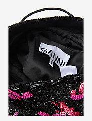 Ganni - Hand Beaded Accessories Purse - shoulder bags - black - 4