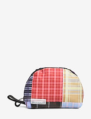 Ganni - Tech Fabric Toiletry Bag Small - torby kosmetyczne - forever blue - 0