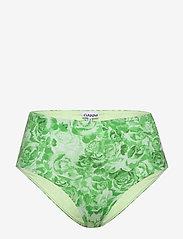 Ganni - Recycled Fabric Swimwear - bikini bottoms - patina green - 0