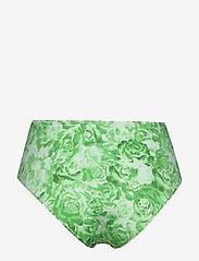 Ganni - Recycled Fabric Swimwear - bikini bottoms - patina green - 1