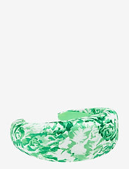 Ganni - Padded Nylon Accessories - hair accessories - island green - 0