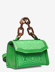 Ganni - Leather - top handle tasker - island green - 3