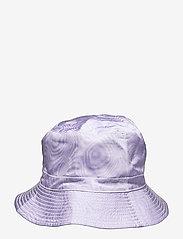 Ganni - Moire Accessories - emmer hoeden - violet tulip - 1