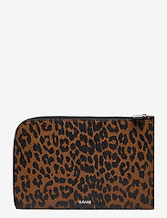 Ganni - Pouch Leather - bags - toffee - 0