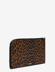 Ganni - Pouch Leather - clutches - toffee - 2
