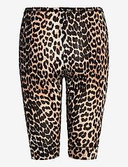 Ganni - Short Leggings - cykelshorts - leopard - 1
