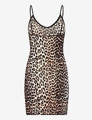Ganni - Slip Dress - bodies & slips - leopard - 1