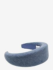 Ganni - Denim Accessories - hair accessories - washed indigo - 0