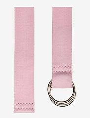 Ganni - Webbing Belt - riemen - cherry blossom - 1