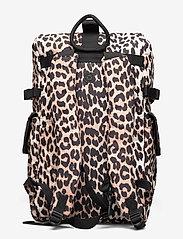 Ganni - Recycled Tech Fabric Bags - tassen - leopard - 1