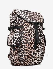 Ganni - Recycled Tech Fabric Bags - tassen - leopard - 2