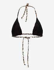 Ganni - Recycled Printed - bikini overdele - leopard - 1