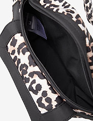 Ganni - Recycled Tech Fabric Bags - belt bags - leopard - 3