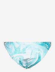 Ganni - Recycled Printed - bikini underdele - bachelor blue - 1