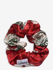 Ganni - Silk Stretch Satin - haar accessoires - brazilian sand - 1