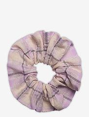 Ganni - Seersucker Check - accessories - orchid bloom - 0