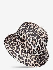 Ganni - Seasonal Recycled Tech - bucket hats - leopard - 1