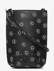 Ganni - Recycled Leather - skuldertasker - phantom - 0