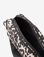 Ganni - Recycled Tech Fabric Bags - shoulder bags - leopard - 2