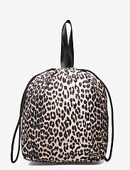 Ganni - Recycled Tech Fabric Bags - bags - leopard - 0