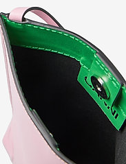 Ganni - Recycled Leather - shoulder bags - pink nectar - 4