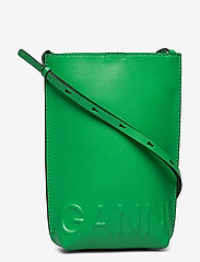 Ganni - Recycled Leather - tasker - kelly green - 0