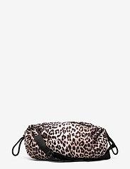 Ganni - Seasonal Recycled Tech Fabric - crossbody bags - leopard - 0