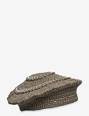 Ganni - Cotton Knit - bøllehatte - kalamata - 0