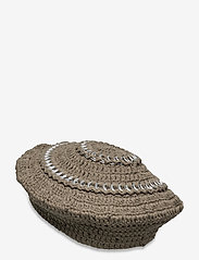 Ganni - Cotton Knit - bøllehatte - kalamata - 1