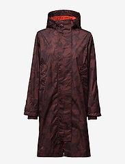 Ganni - Vandalia - cienkie płaszcze - decadent chocolate - 1